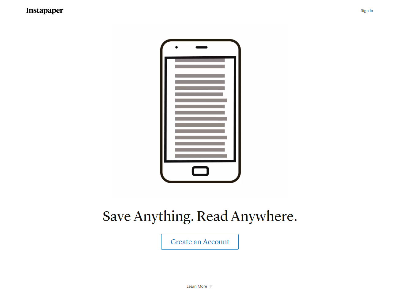 Landing page ideas use white space