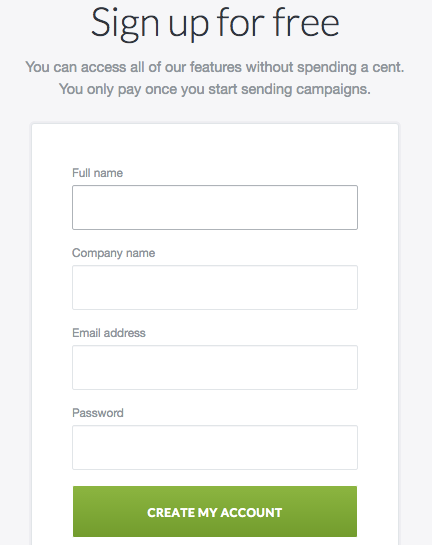 forms for lead generation landing pages