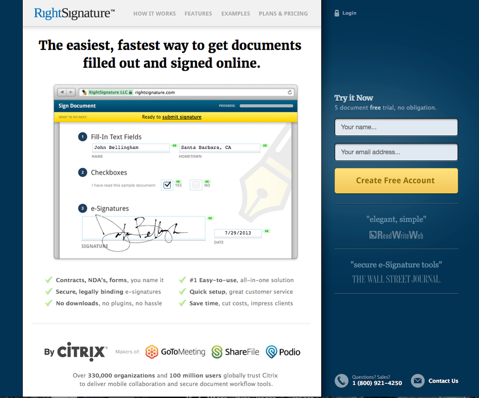 Landing page mistakes abstract concepts
