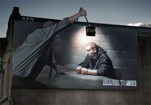 Law and Order Billboard