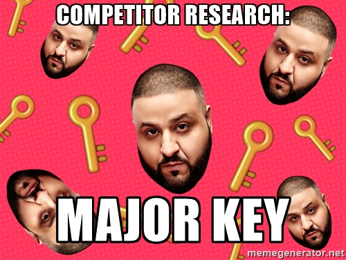 lawyer marketing competitor research meme
