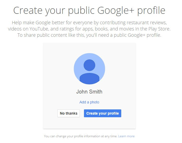 gmail google plus integration