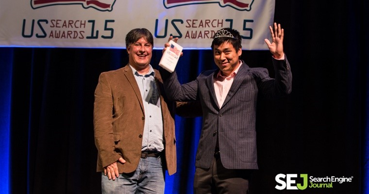 Marketing awards Larry Kim US Search Awards Personality of the Year
