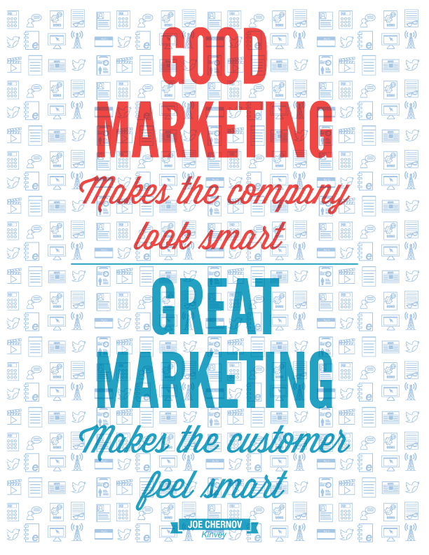 Marketing quotes Joe Chernov