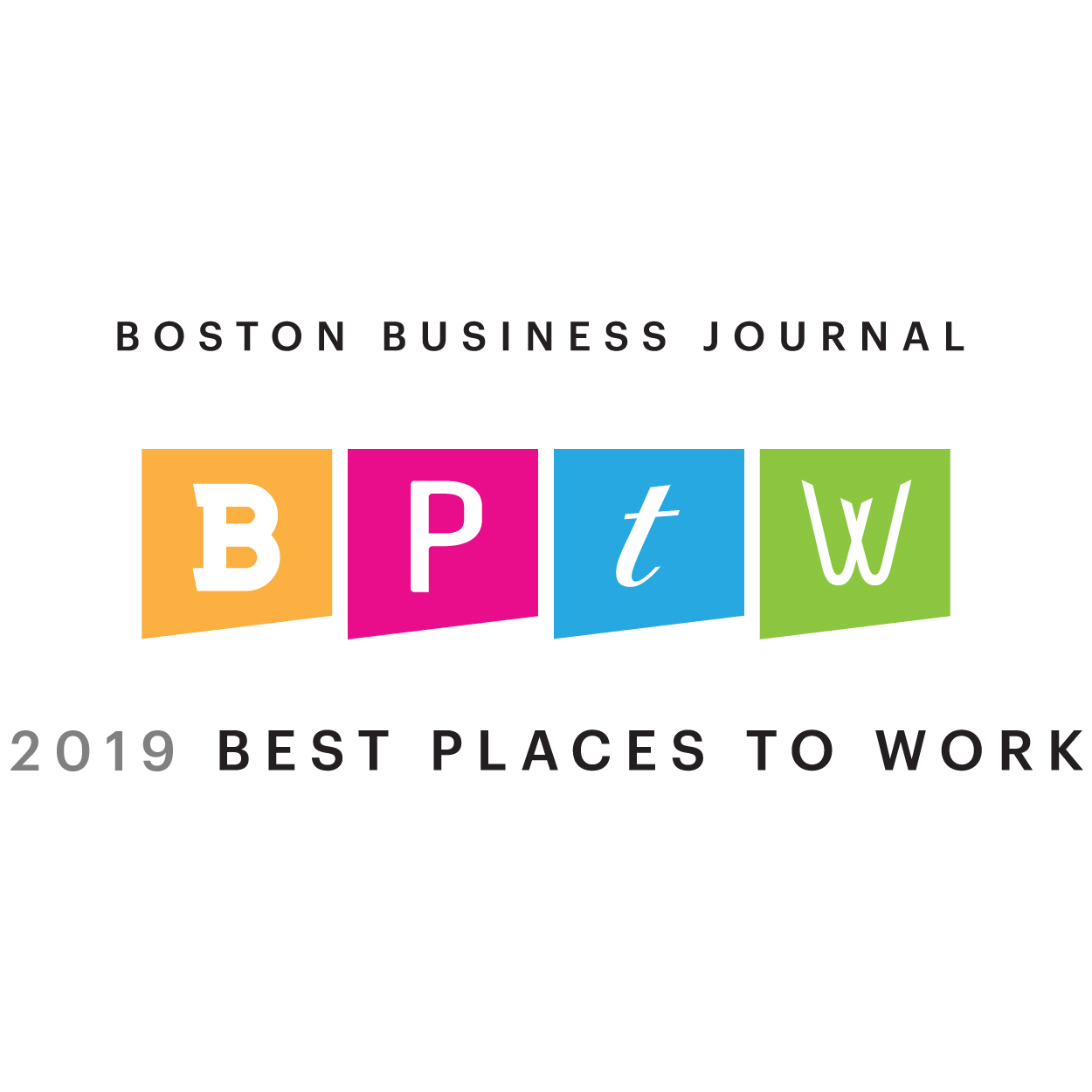 2019 Boston Business Journal's Best Places to Work