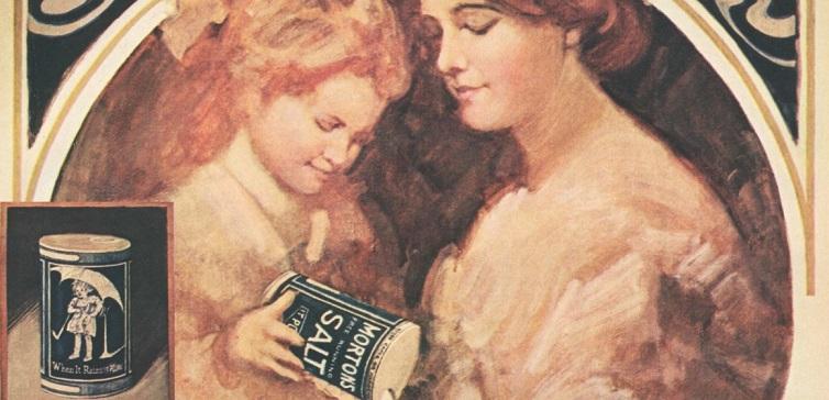 Morton's Salt ad