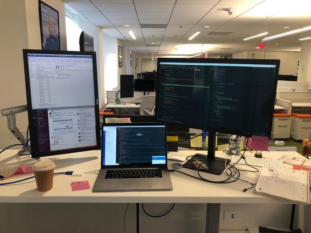 Pablo's desk
