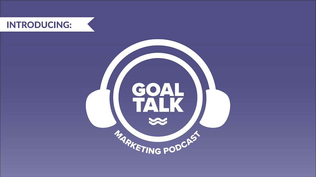 Goal Talk podcast announcement image.