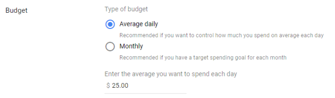 google-my-business-improvements-monthly-campaign-budget
