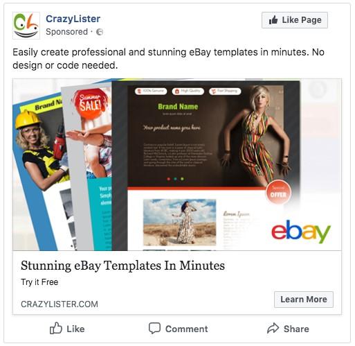 facebook retargeting using google data