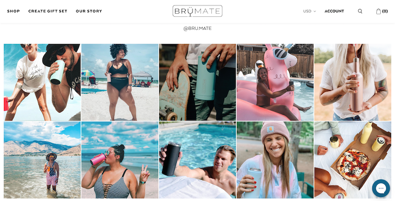 holiday 2020 advertising best practices Instagram Grid