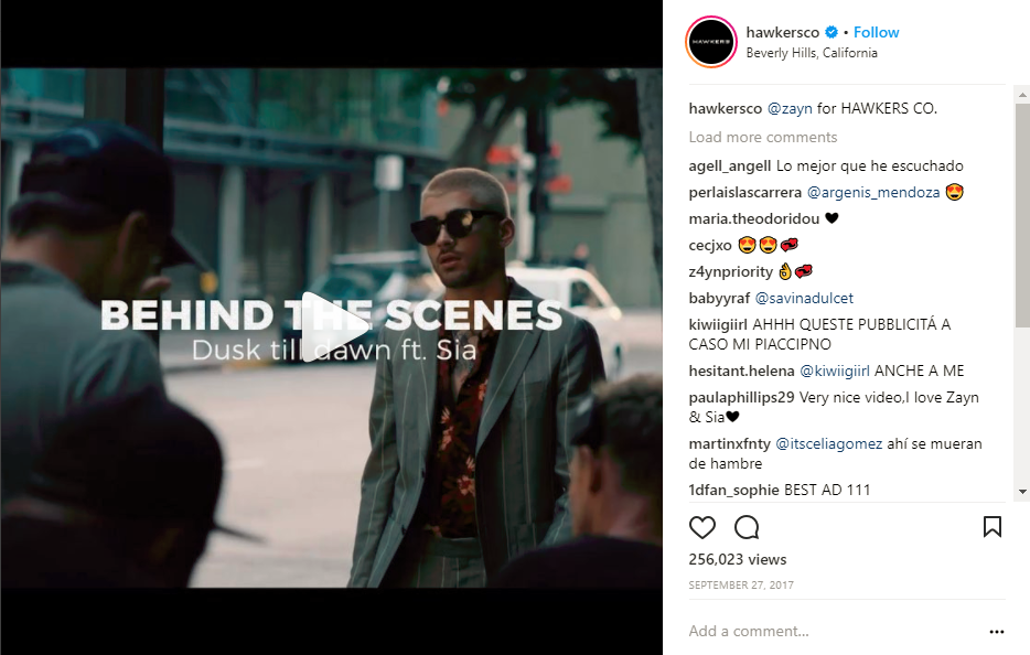 Instagram Videos Hawkersco