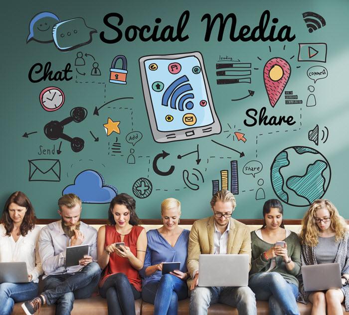 social media stats 2018