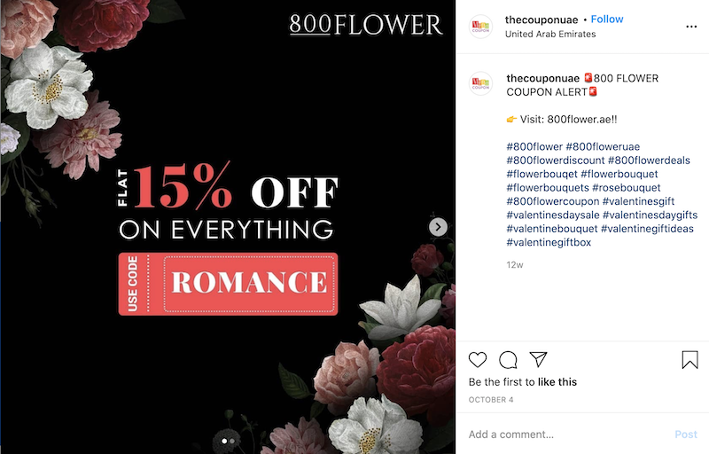 valentine's day marketing ideas coupon