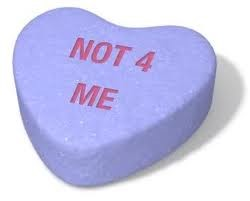 not for me heart