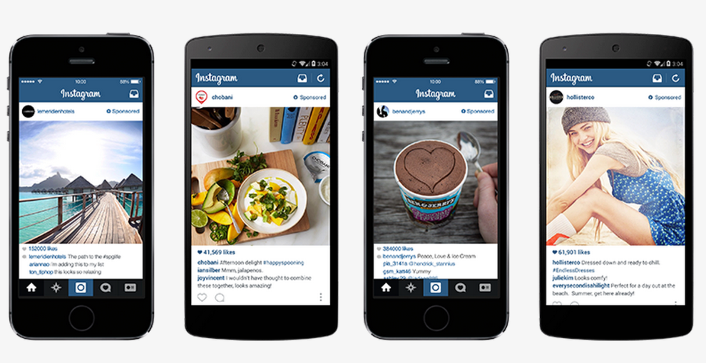 Online advertising costs Instagram ads