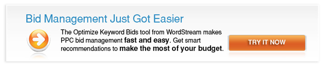 Pay Per Click Bid Management Service