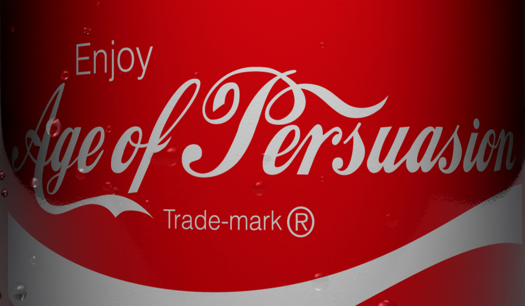 Persuasive landing pages Art of Persuasion Coke logo