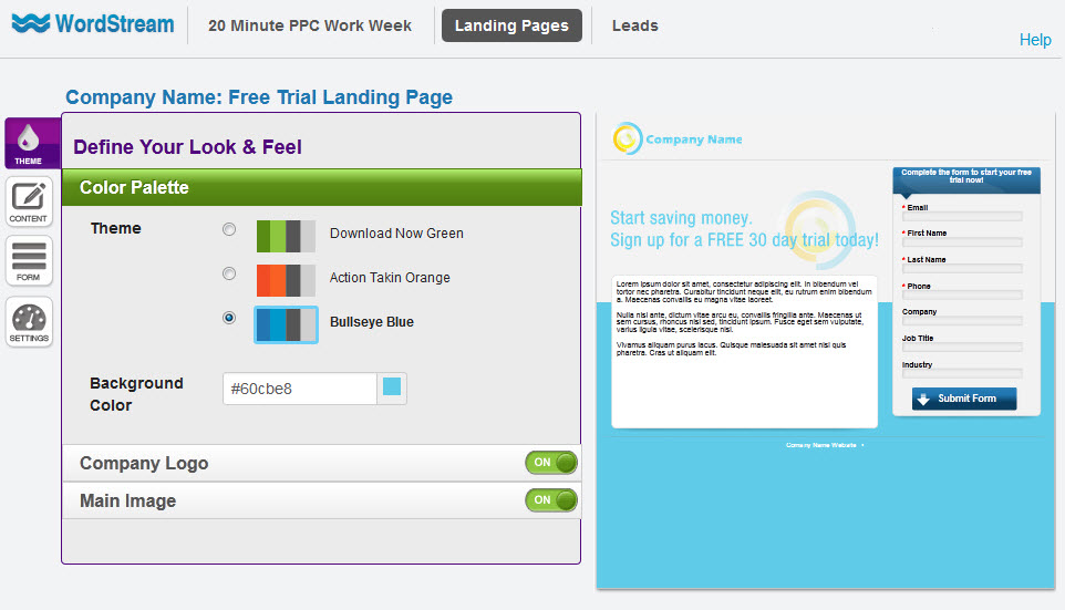 Landing Page Optimization Software