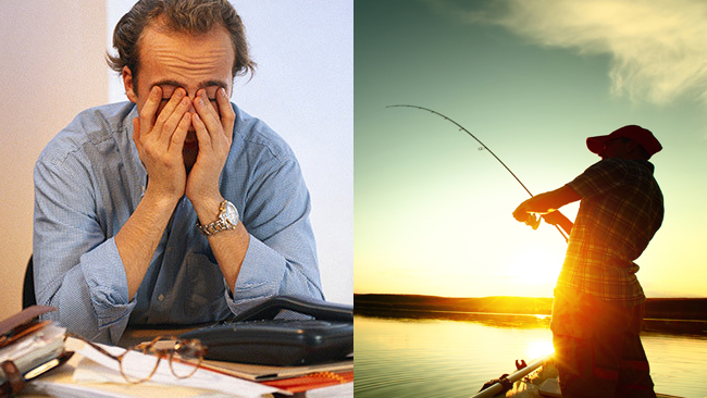 Productivity for content marketers I'd rather be fishing