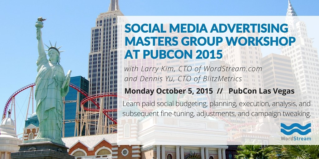 Pubcon Masters Group 2015