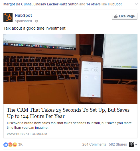 hubspot ad addressing objections