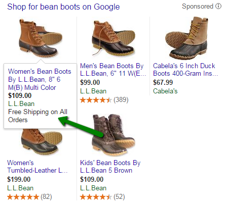Google Shopping campaigns special promotions