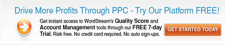 WordStream's small business tools for managing ad campaigns