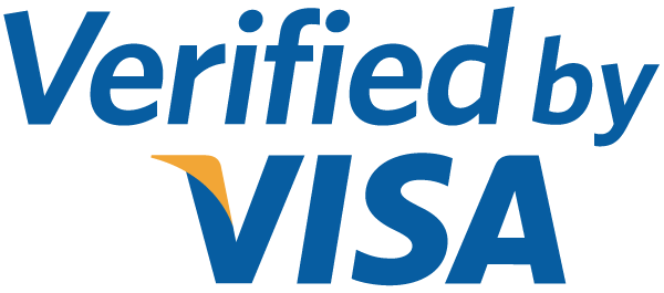 Trust signals Verified by Visa logo