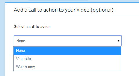 Twitter ads video call to action