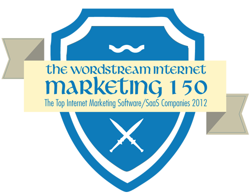 WordStream 150 - Top Internet Marketing Software Company