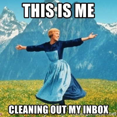 clean out your inbox day
