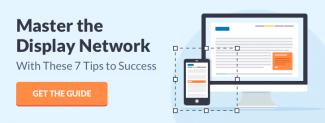 Display Network Bottom Rail