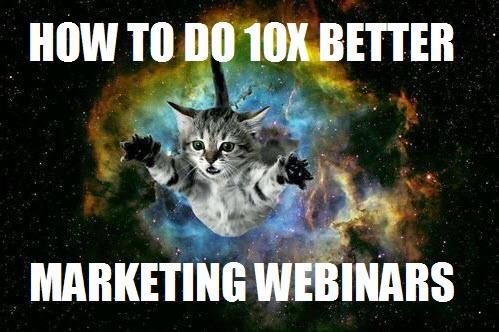 marketing webinar tips