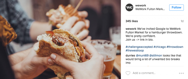 11 hacks to become Instagram famous WeWork hashtag examples