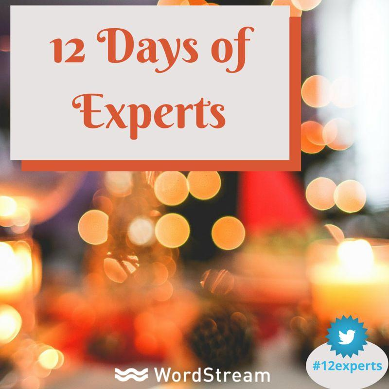 12 Days of Experts
