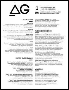 marketing resume format