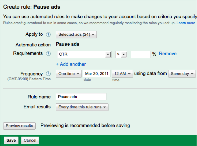 Pause Ads