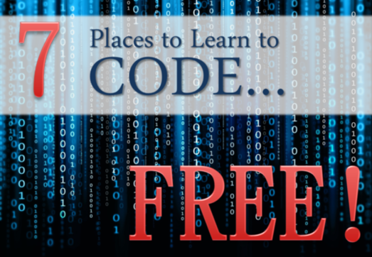 7 places to learn coding for free