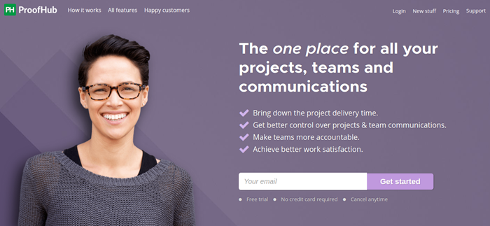 proofhub project management software
