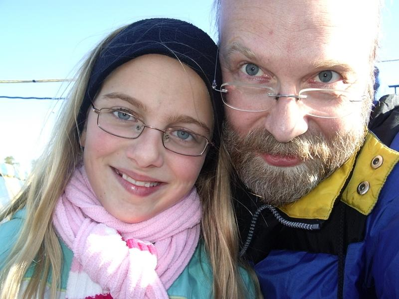 Ruud Hein and Daughter