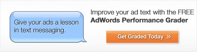 See How Your Text Ads Compare with Free AdWords Grader