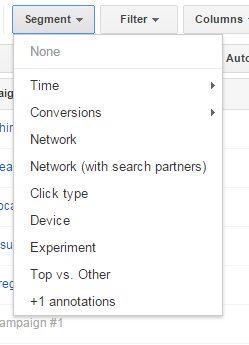 ABCs of AdWords segments