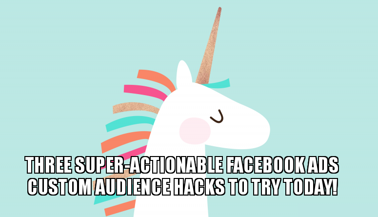 strategy for facebook custom audiences