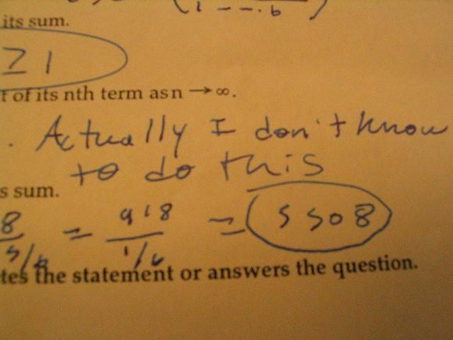wordstream account structure picture of a math test saying I don't know how to do this
