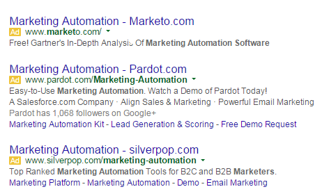AdWords ad copy similar ads
