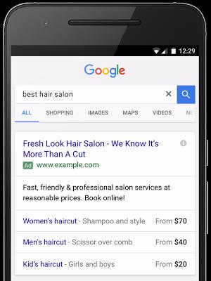 adwords price extension example