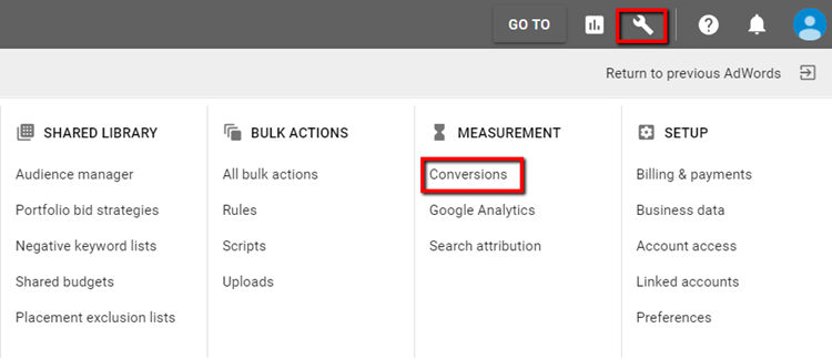 setting up call tracking in adwords