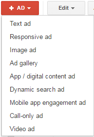 adwords create text ad