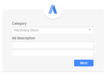 defining business category in adwords express